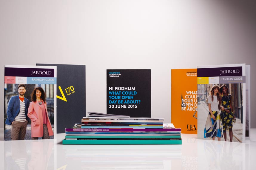 Display of printed materials